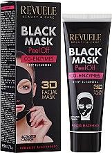 """Parfumuri și produse cosmetice Mască neagră pentru față """"Coenzima Q10"""" - Revuele Black Mask Peel Off Co-Enzymes"""