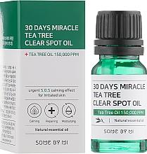 Parfumuri și produse cosmetice Ulei de față - Some By Mi 30 Days Miracle Tea Tree Clear Spot Oil