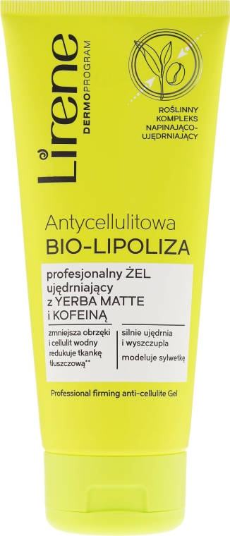 Gel de corp - Lirene Anti-Cellulite Bio-Lipoza — Imagine N1