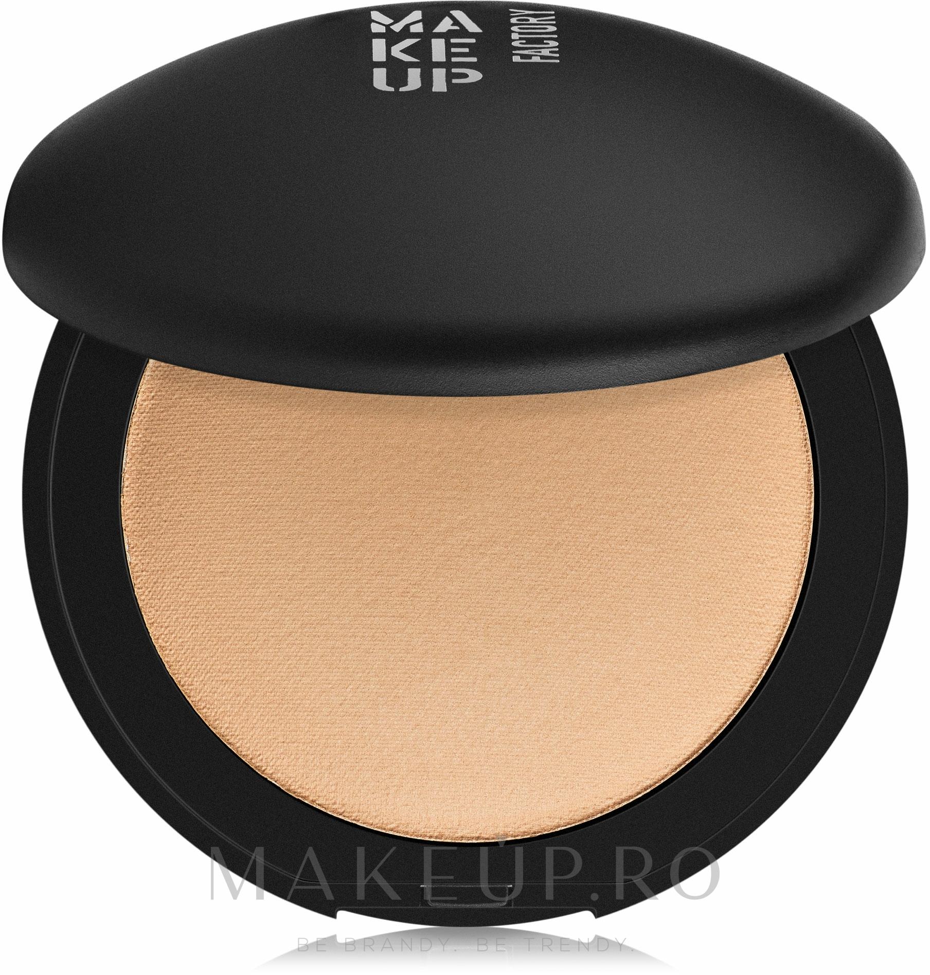 Pudră de față - Make Up Factory Mineral Compact Powder — Imagine 06 - Sand