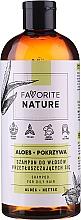 Parfumuri și produse cosmetice Șampon cu extracte de aloe și urzică pentru păr gras - Favorite Nature Shampoo For Oily Hair Aloes & Nettle
