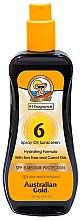 Parfumuri și produse cosmetice Spray-ulei pentru bronzare - Australian Gold Tea Tree&Carrot Oils Spray SPF6