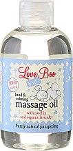 Ulei de masaj pentru copii - Love Boo Baby Kind & Calming Massage Oil — Imagine N2