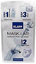 """Parfumuri și produse cosmetice Mască de față """"Hialuron"""" - Klapp Mask Lab Hyaluron Push Up Mask"""