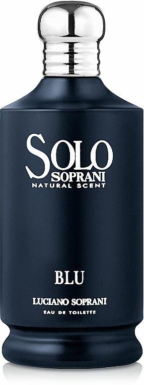 Luciano Soprani Solo Soprani Blu - Apă de toaletă — Imagine N1