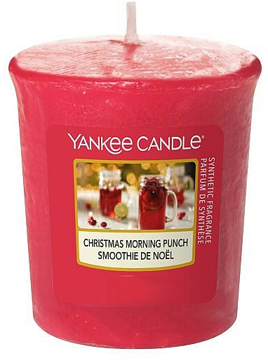 Lumânare aromatică - Yankee Candle Votive Christmas Morning Punch — Imagine N1