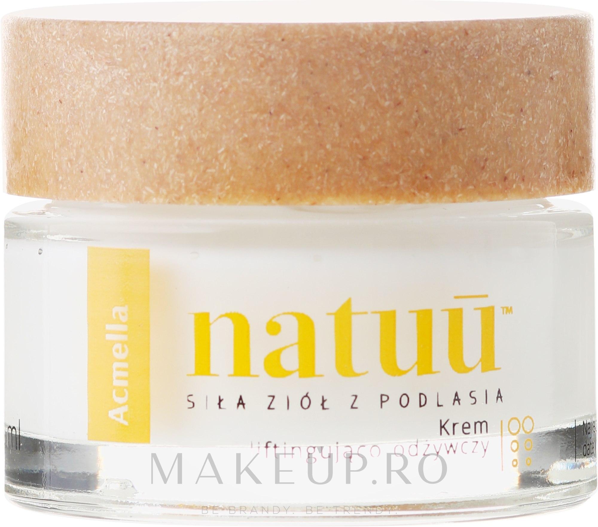 Cremă-lifting pentru față - Natuu SuperLift Face Cream — Imagine 50 ml