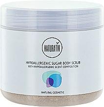 Parfumuri și produse cosmetice Peeling de corp cu zahăr - Naturativ Hypoallergenic Body Sugar Scrub
