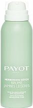 Parfumuri și produse cosmetice Spray pentru picioare obosite - Payot Herboriste Detox Brume Jambes Legeres