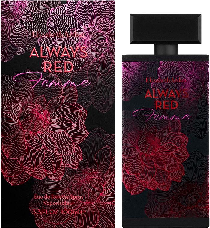 Elizabeth Arden Always Red Femme - Apă de toaletă — Imagine N2