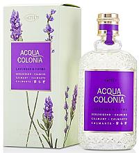 Parfumuri și produse cosmetice Maurer & Wirtz Acqua Colonia Lavender&Thyme - Apă de colonie