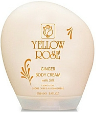 Parfumuri și produse cosmetice Cremă pentru corp - Yellow Rose Ginger Body Cream