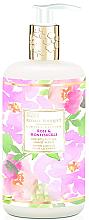 Parfumuri și produse cosmetice Săpun lichid pentru mâini - Baylis & Harding Royale Bouquet Rose and Honeysuckle Hand Wash