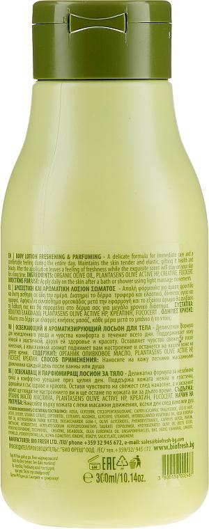 Loțiune răcoritoare și parfumată pentru corp - BioFresh Olive Oil Of Greece Body Lotion — Imagine N2