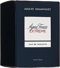 Parfumuri și produse cosmetice Adolfo Dominguez Agua Fresca Extreme - Apă de toaletă