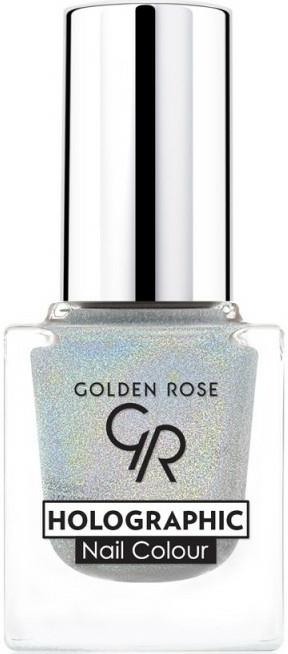 Lac de unghii - Golden Rose Holographic Nail Colour