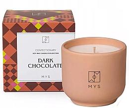 """Parfumuri și produse cosmetice Lumânare din soia """"Ciocolată neagră"""" - Mys Dark Chocolate Candle"""