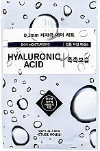 Parfumuri și produse cosmetice Mască de față, ultra-subțire cu acid hialuronic - Etude House Therapy Air Mask Hyaluronic Acid