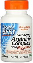 Parfumuri și produse cosmetice Complex de arginină cu nitrosigine, cu acțiune rapidă - Doctor's Best Fast Acting Arginine Complex with Nitrosigine