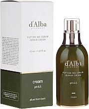 Parfumuri și produse cosmetice Cremă cu peptide pentru față - D'Alba Peptide No-Sebum Repair Cream
