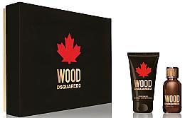 Parfumuri și produse cosmetice Dsquared2 Wood Pour Homme - Set (edt/30ml + sh/gel/50ml)