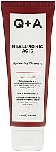Parfumuri și produse cosmetice Gel hidratant de curățare cu acid hialuronic pentru față - Q+A Hyaluronic Acid Hydrating Cleanser