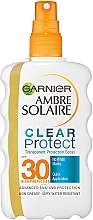 Parfumuri și produse cosmetice Spray bifazic cu protecție solară SPF 30 - Garnier Ambre Solaire Clear Protect Spray SPF30