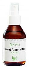 Parfumuri și produse cosmetice Ulei de migdale dulci cu aromă de ceai verde - Natur Planet Sweet Almond Oil Aroma Green Tea