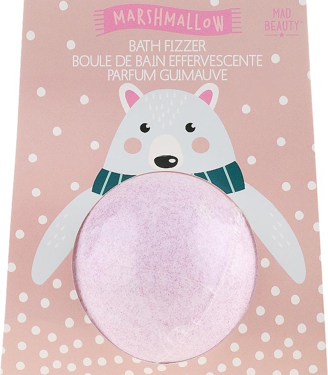 """Bombă de baie """"Urs polar"""" - Mad Beauty I Love Christmas Bath Fizzer Polar Bear — Imagine N1"""