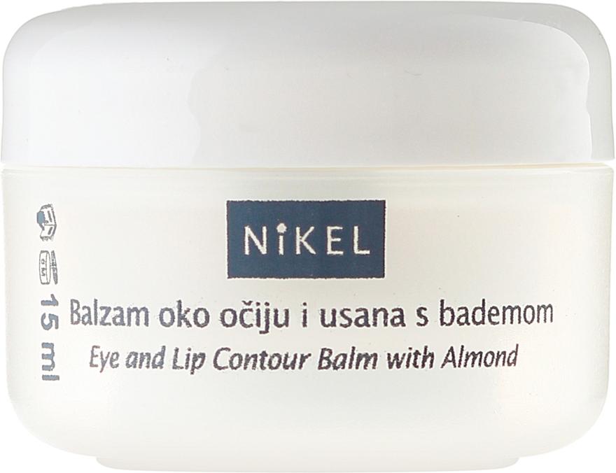 Balsam cu ulei de migdale pentru zona ochilor și buzelor - Nikel Eye and Lip Contour Balm — Imagine N2