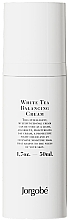 Parfumuri și produse cosmetice Cremă echilibrantă cu ceai alb - Jorgobe White Tea Balancing Cream