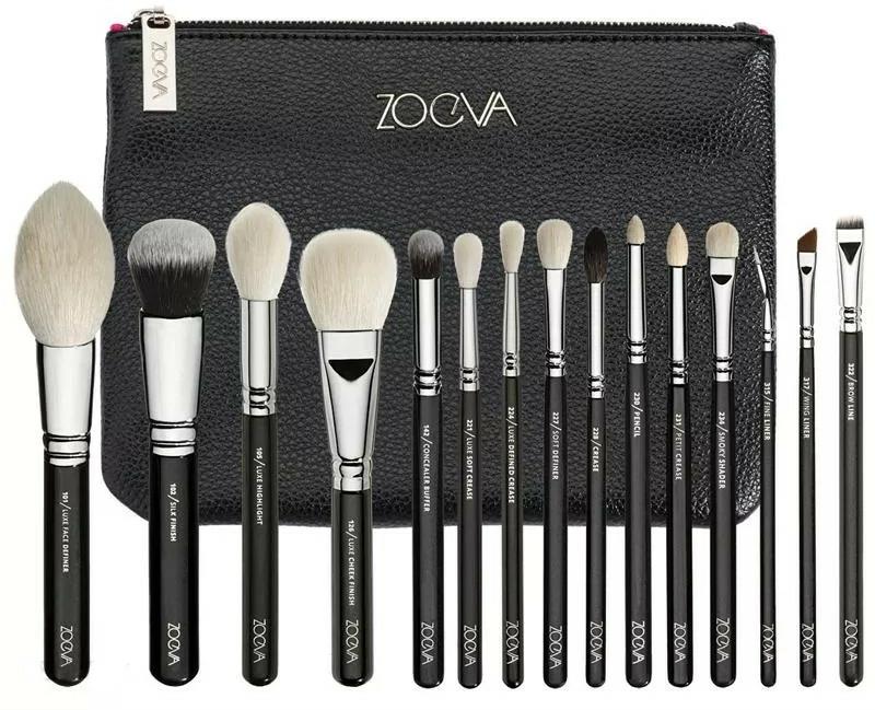Set pensule pentru machiaj, 15 bucăți - Zoeva Luxe Complete Set — Imagine N1