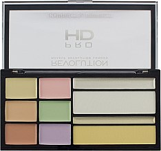 Parfumuri și produse cosmetice Paletă corector - Makeup Revolution HD Correct and Perfect Palette