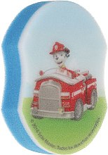 "Burete pentru baie ""Paw Patrol"", Marshall cu mașina - Suavipiel Paw Patrol Bath Sponge — Imagine N1"