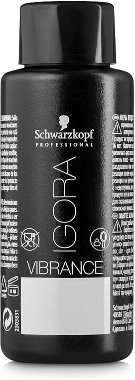 Vopsea de păr - Schwarzkopf Professional Igora Vibrance Tone On Tone — Imagine N2