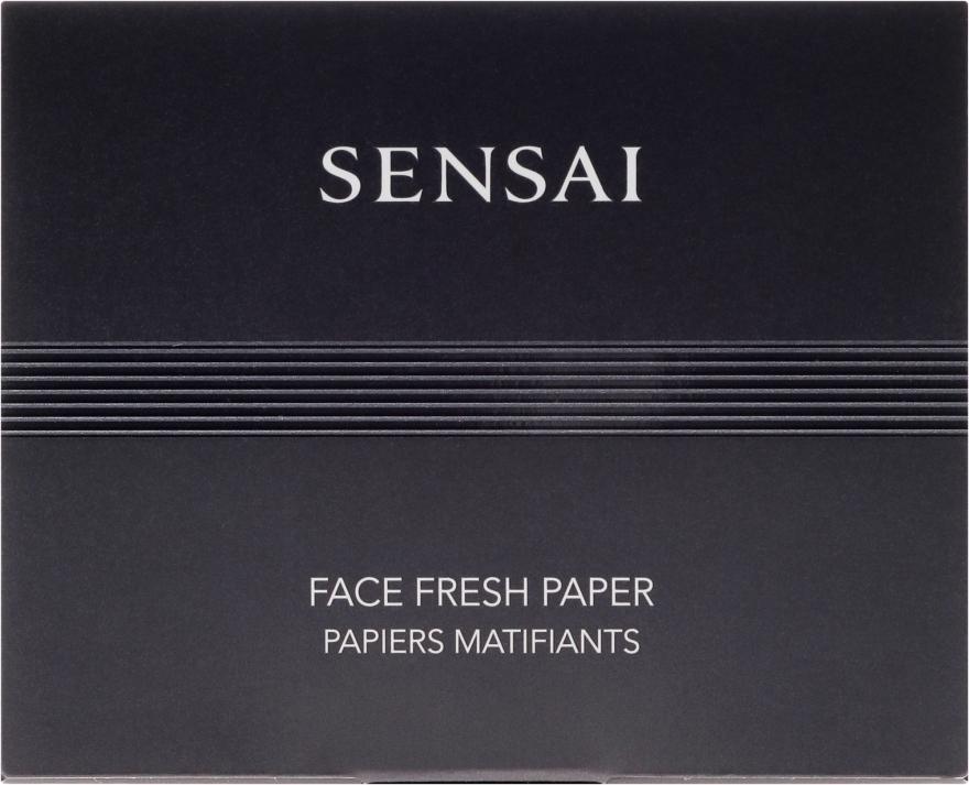 Șervețele răcoritoare pentru față - Kanebo Sensai Face Fresh Paper — Imagine N1