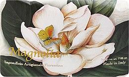 """Parfumuri și produse cosmetice Săpun de toaletă """"Magnolie"""" - Saponificio Artigianale Fiorentino Magnolia"""