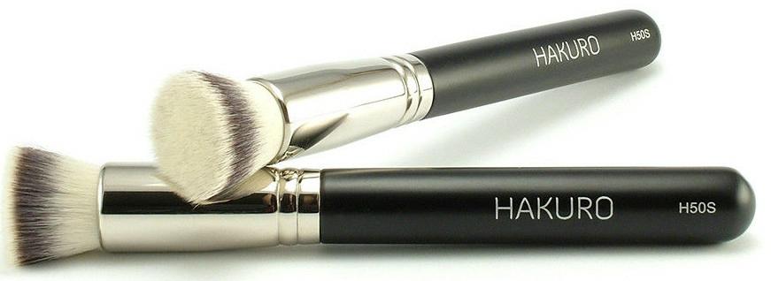 """Pensulă pentru fond de ten """"H50S"""" - Hakuro"""