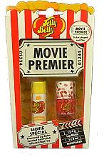 Parfumuri și produse cosmetice Set - Jelly Belly Movie Mix Pack (lip/balm/4g + nail/polish/4ml + nail/file)