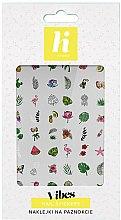 Parfumuri și produse cosmetice Abțibilduri pentru unghii - Hi Hybrid Vibes Nail Stickers