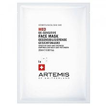 Parfumuri și produse cosmetice Mască de față - Artemis of Switzerland Med De-Sensitise Face Mask