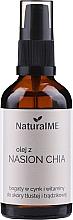 Parfumuri și produse cosmetice Ulei din semințe de chia, cu dozator - NaturalME