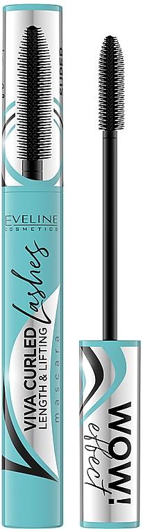 Rimel - Eveline Cosmetics Viva Curled Lashes Mascara Length And Lifting