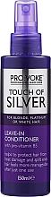 Parfumuri și produse cosmetice Balsam fără spălare - Pro:Voke Touch Of Silver Leave In Conditioner