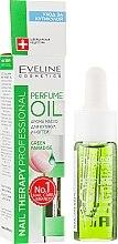 Parfumuri și produse cosmetice Ulei pentru cuticule - Eveline Cosmetics Nail Therapy Professional Green Paradise