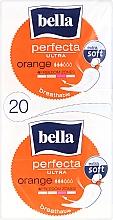 Parfumuri și produse cosmetice Absorbante Perfecta Ultra Orange, 10+10 buc. - Bella