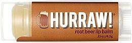 "Parfumuri și produse cosmetice Balsam de buze ""Root Beer"" - Hurraw! RootBeer Lip Balm"