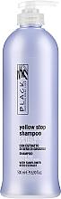 Parfumuri și produse cosmetice Șampon împotriva gălbeneții pentru păr gri și deschis - Black Professional Line Yellow Stop Shampoo