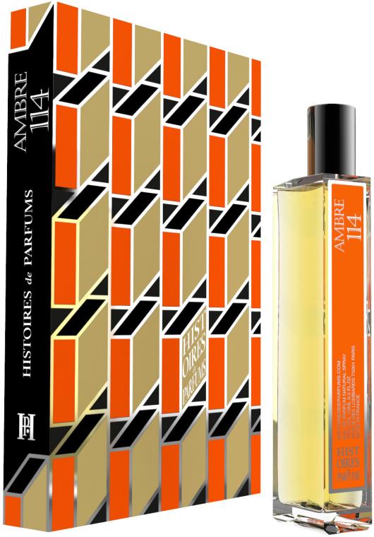 Histoires de Parfums Ambre 114 - Apă de parfum (mini) — Imagine N1