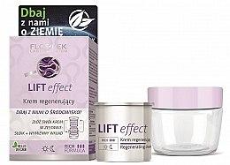 Parfumuri și produse cosmetice Cremă revitalizantă pentru față - Floslek Lift Effect Regenerating Cream (jar + removable refill)